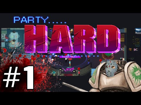 Party Hard Gameplay / Let's Play - Peace and Quiet - Part 1