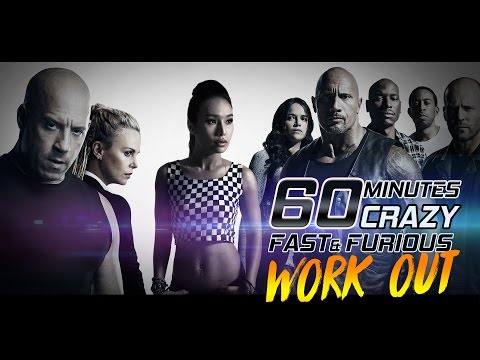 👙 60 Mins CRAZY Fast and Furious Dance Workout for weight lo