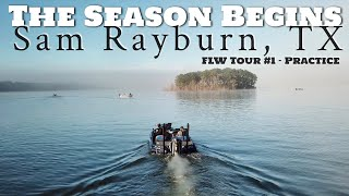 New Boat New Rods New Lures! Sam Rayburn FLW Tour Practice