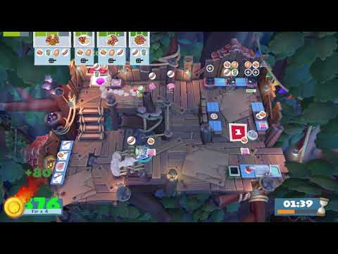 Overcooked! 2 Campfire Cook Off | 3 Players (1700 pts) |