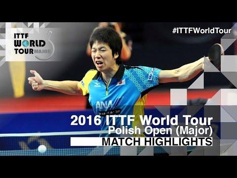 2016 Polish Open Highlights: Jun Mizutani vs Dimitrij Ovtcharov (Final)