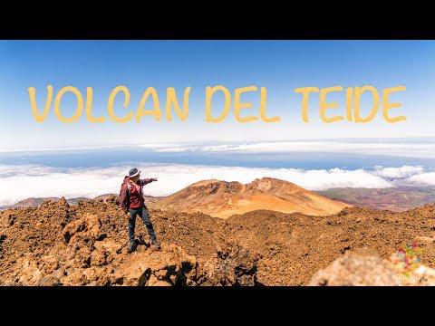 🏔 VISITA AL VOLCÁN TEIDE EN TELEFÉRICO TENERIFE ISLAS CANARIAS (4K)