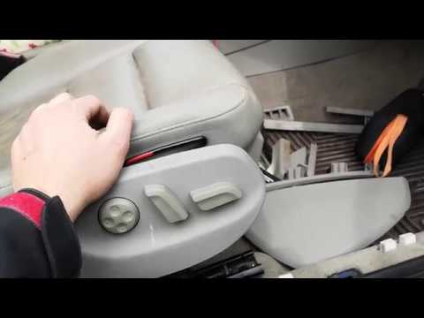 Audi A4 B6 B7 Pasanger Power Seat Fues Location Electric Seat Upgrade Youtube