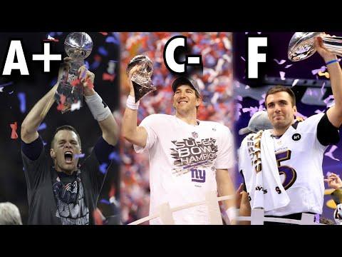 Ranking Every Super Bowl Winning Quarterback Since 2000