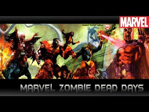 [จุดเริ่มต้นของโลกซอมบี้][Marvel Zombies DeadDays]comic world daily