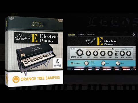 The Famous E Electric Piano - Overview