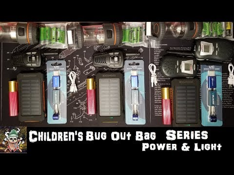 Children's Bug Out Bag Series | Power & Light