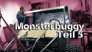 Monster offroad Buggy bekommt neues Fahrwerk
