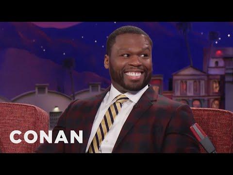 "Curtis ""50 Cent"" Jackson: Trump Has The Attitude Of A Rapper  - CONAN on TBS Mp3"