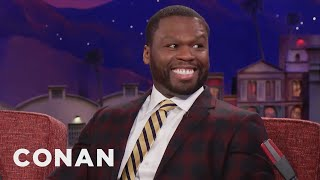 curtis 50 cent jackson trump has the attitude of a rapper conan on tbs
