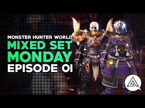 Monster Hunter World | Mixed Set Monday #01 - Hammer & Support SnS