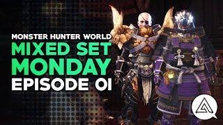 Monster Hunter World   Mixed Set Monday #01 - Hammer & Support SnS