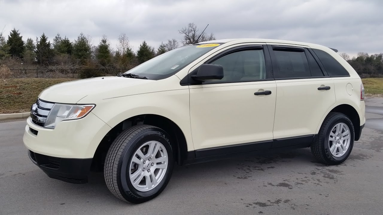 maxresdefault sold 2007 ford edge se awd for sale 105k creme brule 2 owner new 2007 ford edge trailer wiring harness at gsmx.co
