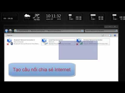 Phát wifi bằng laptop để chia sẻ Internet