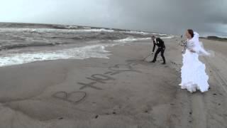 Свадьба, съемка у моря. Ливень.FMvideostudio.