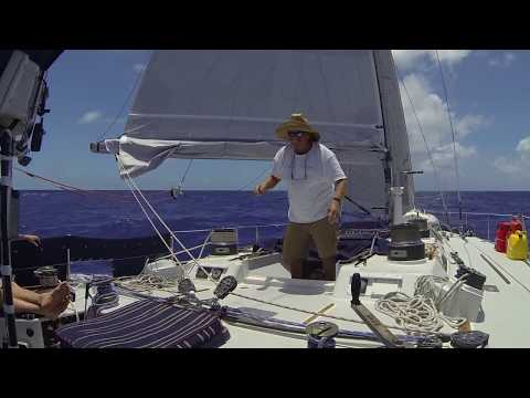 Merrythought - Sailing with Michael Peacock, Antigua to St. Petersburg, May 2014