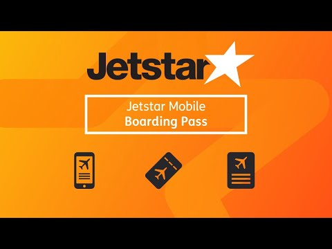 How To Use A Jetstar Australia Mobile Boarding Pass