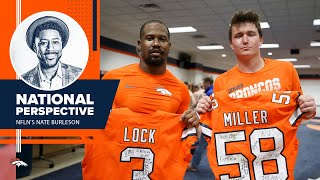 'Drew Lock [is a] fantastic talent': Nate Burleson details his excitement for Broncos' 2020 season