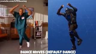 ALL 38 FORTNITE DANCES AND THEIR REAL LIFE REFERENCES