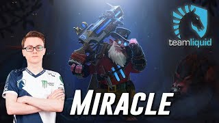 Miracle Sniper vs w33 Zeus - Dota 2 Pro MMR Gameplay