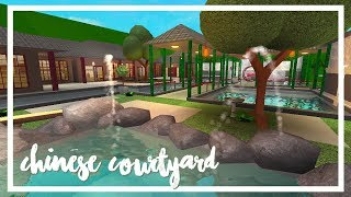 Roblox: Welcome to Bloxburg | Chinese Courtyard (211k)