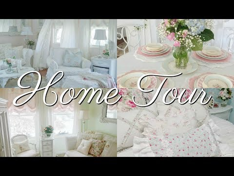 🏡SHAB CHIC HOME TOUR~Melanie Cottage of the Month