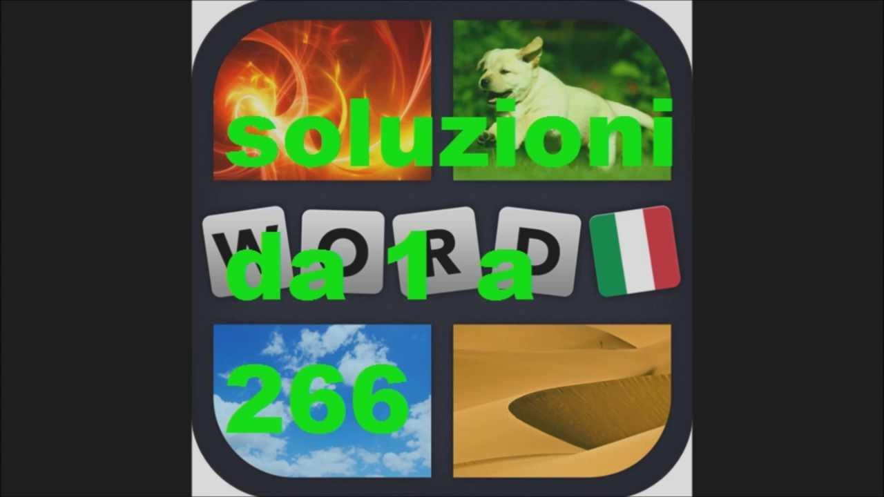Soluzioni 4 immagini 1 parola liv 1 a 266 hd doovi for 4 immagini 1 parola fotografi