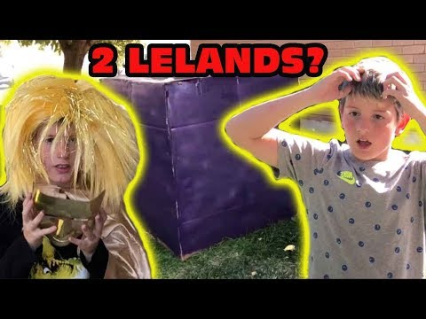 Kid Temper Tantrum Meets Future Leland As The Fortnite Cube Finally Opens With A Warning!