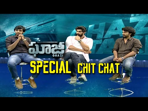 Special Chit Chat With Ghazi Movie Team || Rana,Satyadev || NTV