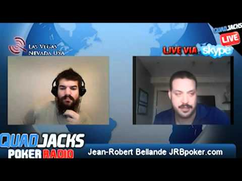 Jean-Robert Bellande part 2/2   QuadJacks Poker Radio Thursday, December 8, 2011