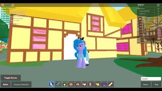 My Little Pony Roblox Roleplay| Starlight (The non vlogging one) Does things