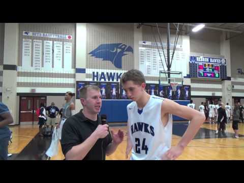 Riley Ellis Interview after victory over Plano 2 13 15