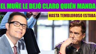 Daniel Bisogno Intimida a Horacio Villalobos en Programa Ventaneando