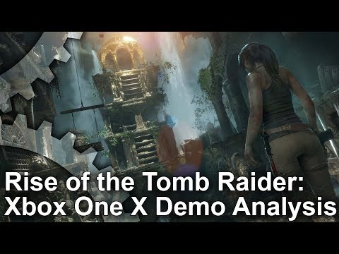 [4K] Rise of the Tomb Raider Xbox One X - Native 4K, High Frame-Rate and Enriched 4K Demo Analysis!