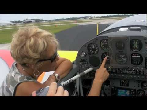 Patty Wagstaff Extra 300S Simulator Production Interview