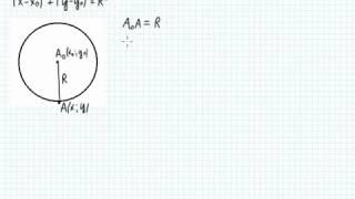 Б23 1 Вывод уравнения окружности