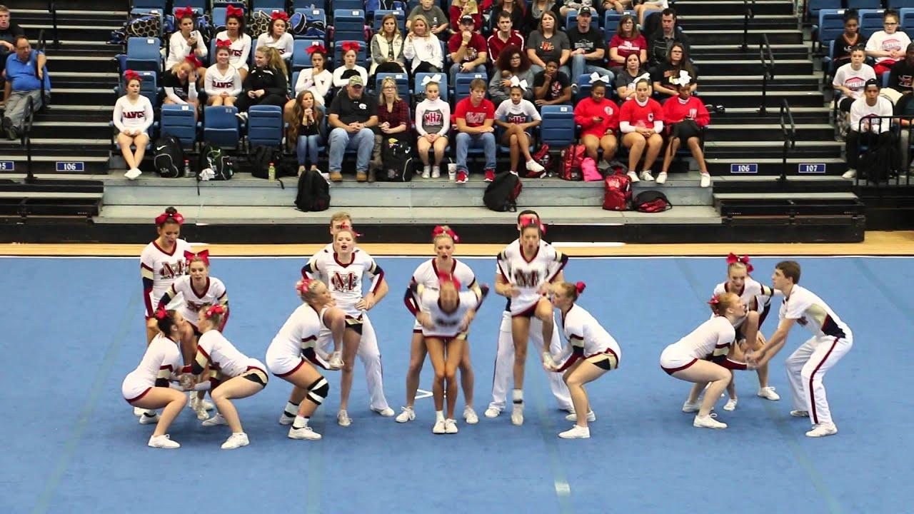 Mill Creek High School Varsity Coed Competition Cheer