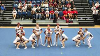 Mill Creek High School Varsity Coed Competition Cheer - 2015 GHSA Cheerleading State Regionals