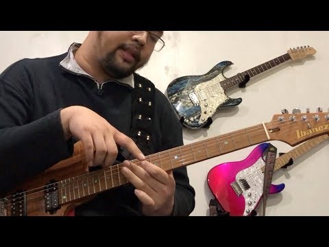 Highway Star Keyboard Solo :  Guitar Lesson by Peter Sow