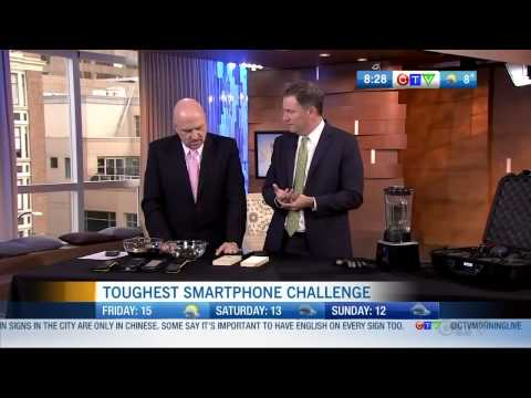 Bob Plaschke on CTV Testing Sonim Phones - Vancouver