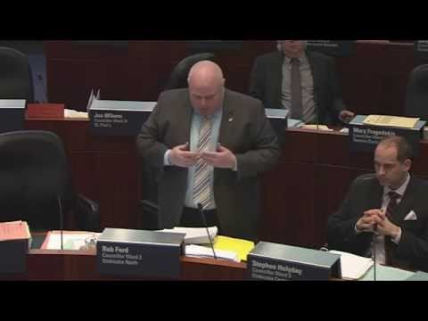 Rob Ford ejected from Council Chamber (11-02-2015)