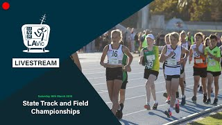 🔴 2019 State Track and Field Championships Livestream - Saturday - PM (Main) // LAVicTV