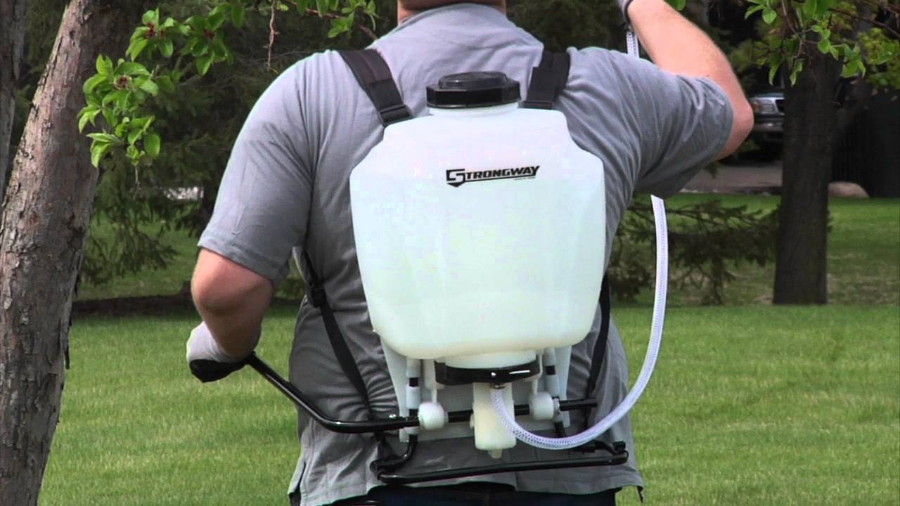 How To Install Straps On Greenwood Backpack Sprayer- Fenix