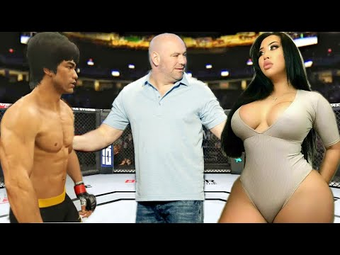 PS5 | Bruce Lee Vs. Japan Rina (EA Sports UFC 4)