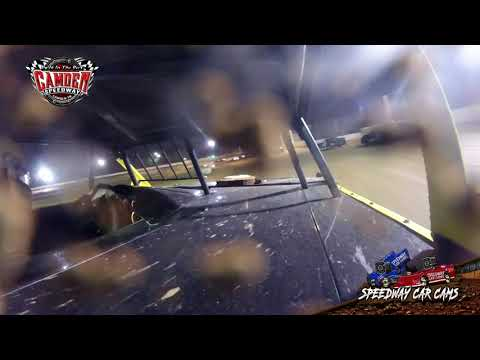 #57 Derrick Bawcum - Durrence Layne Street - 7-27-19 Camden Speedway - in-Car Camera