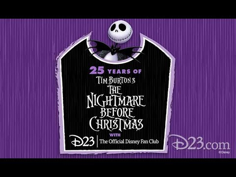 the nightmare before christmas 25th anniversary d23 panel at san diego comic con 2018 - Why Is Christmas On The 25th
