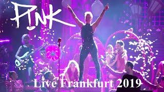Pink - 11 Complete Songs - Beautiful TRAUMA Tour - Live @ Commerzbank Arena Frankfurt 2019