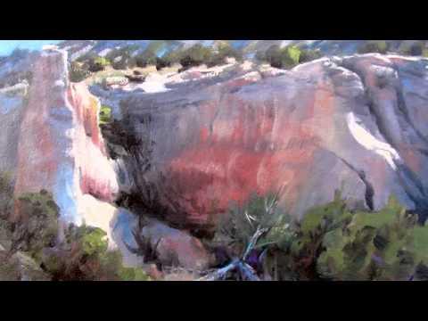 Rocks and Cliffs, Plein Aire