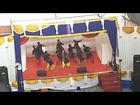 DANCE PERFORMANCE by B.com students BLAAST ,NCIT CHALAKUDY, 2k16