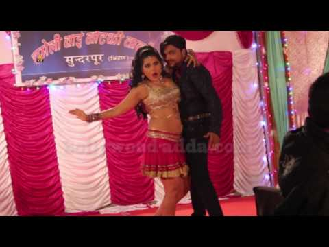 Bhojpuri Actress Seema Singh DANCE Performance Film UDAAN On Location